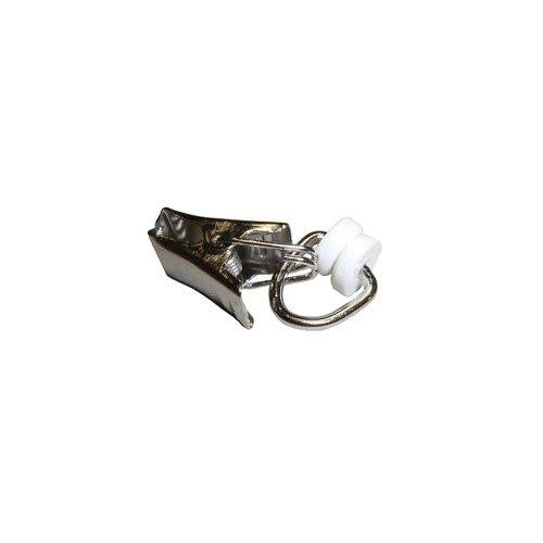 20 mm im 10er Beutel Gardinenringe mit Faltenhaken Kunststoff schwarz 12-16
