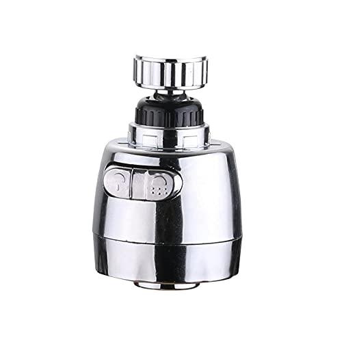 Aireador Spray Grifo 360° Giratorio Aireador de Grifo Eyector De Filtro De Ahorro De Agua Ajustable,accesorios de grifo de cocina y baño-Rosca exterior_24mm
