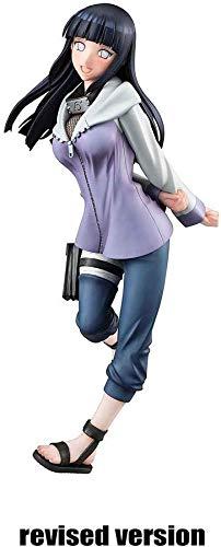 SAMER Figura Naruto Shippuden Naruto Gals Hinata Hyuga PVC
