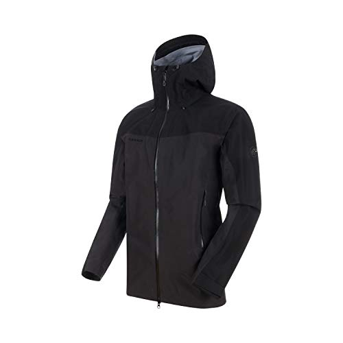 Mammut Crater Vestes Hard Shell Homme, Phantom-Black, FR : M (Taille Fabricant : M)