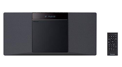 Pioneer X-SMC02(B) CD Micro System (Plays Audio CD/CD-R/CD-RW/MP3, 2 x 10...