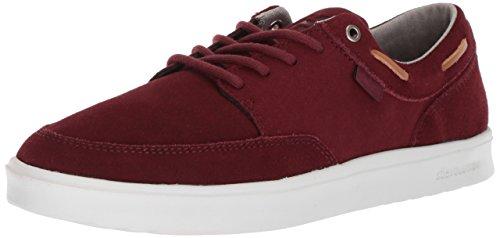 Etnies Dory SC, Zapatos de Skate Hombre, Burgundy Tan White, 45.5 EU
