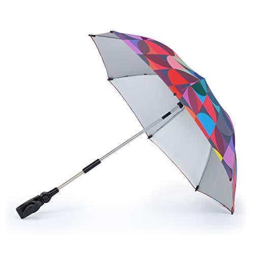 Cosatto Parasol universal para cochecito y cochecito – Protección UV 100+, ajuste múltiple, sombrilla para el sol, caleidoscopio