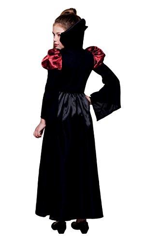 Boland- Costume Bambina Regina dei Vampiri, Nero/Rosso, 140, 78107