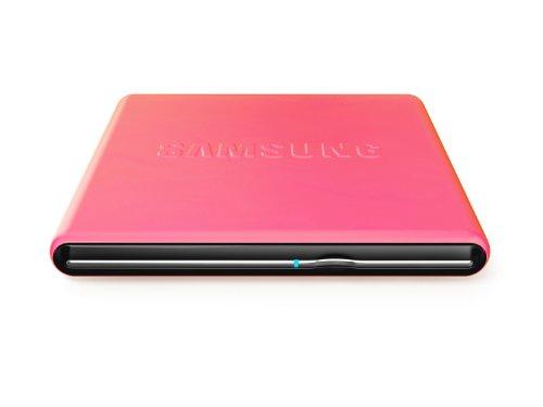 Samsung SE-S084D externer DVD Brenner (DVD±RW (±R DL) rosa