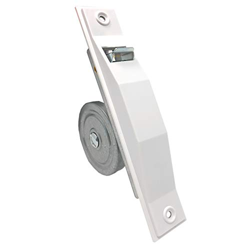 DIWARO.® | Mini Einlass-Gurtwickler | Lochabstand 155 mm | für 13 mm - 15 mm Gurtbreite | weiß