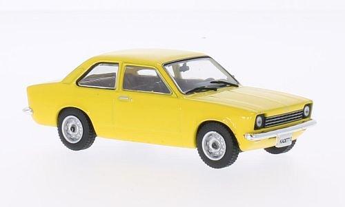 Opel Kadett C Limousine (ohne Magazin) , gelb, 1973, Modellauto, Fertigmodell, SpecialC.-40 1:43