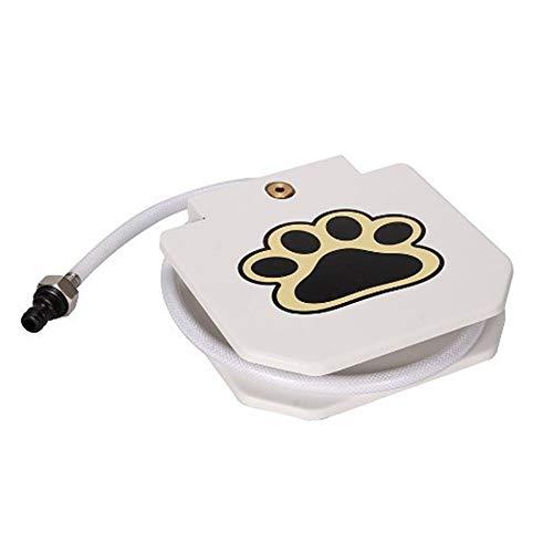 Fuentes de agua potable para los gatos, tranquila extra con un filtro de carbón, fuente de agua potable para los perros diseño moderno gatos fuente de agua potable de Ahorro de Energía,Blanco