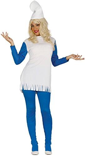 Guirca 80426 – Zwerg blau Erwachsene, Größe L 42-44
