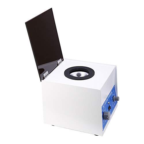 Centrífuga de laboratorio, TOPQSC Máquina centrífuga profesional de centrífuga eléctrica 4000 rpm de baja velocidad 6 tubos x 20 ml, con temporizador de 0-60 minutos y control de velocidad