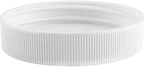 3 pk Threaded//Screw-On Caps for 3 and 5 Gallon Water Bottle Jugs 48mm, White
