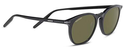 Serengeti Gafas de Sol ARLIE Shiny Black/Mineral Polarized Nm 52/20/145 unisex