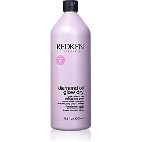 REDKEN Diamond Oil Glow Dry Shampoo 1000 ml 1 Unidad 1000 g