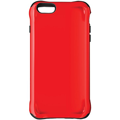 Ballistic Urbanite Case for iPhone 6 Plus 5.5-Inch and iPhone 6s Plus 5.5-Inch - Retail Packaging - Red/Black
