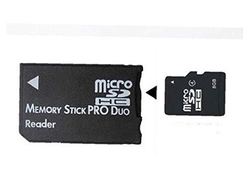 Micro SD Sdhc TF Memory Stick Ms Pro Duo Lector De PSP Adaptador Convertidor