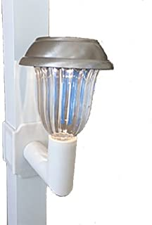 Solar Lanai Lights 4 Lights - Brightness 5 Lumen Clip on for Screen Enclosures, Lanai's and Pool Cages