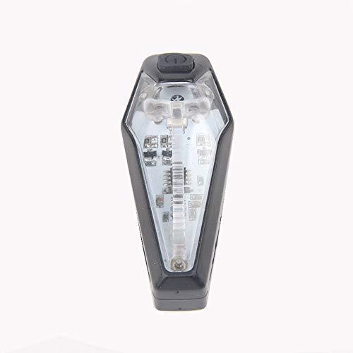 LED fiets achterlicht, lampje, USB opladen met intelligente sensor waterdicht achterlicht achter, COB fiets achterlicht Huangwei7210