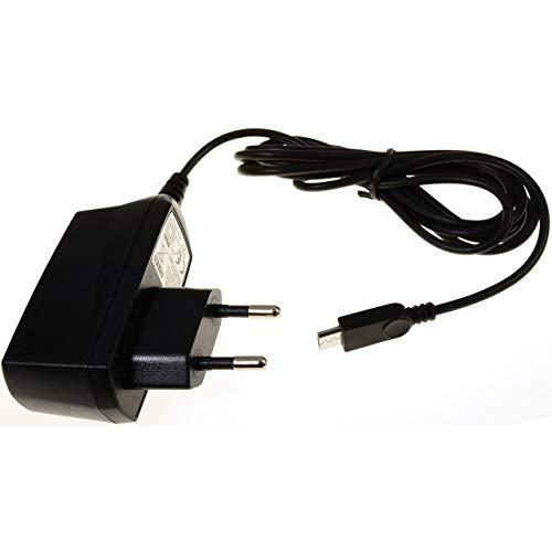Powery Cargador con Micro-USB 1A para ZTE Blade V7