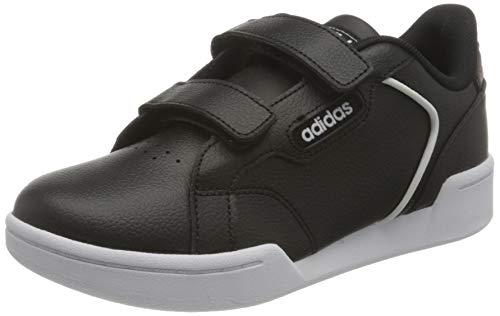 adidas ROGUERA C, Scarpe da Ginnastica, Core Black/Core Black/Ftwr White, 32 EU
