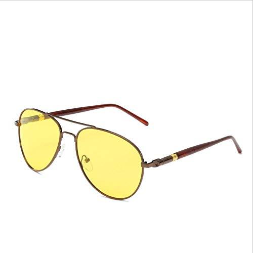Sunhao Zonnebrillen voor heren, gepolariseerde glazen, sportbrillen, vissen, golfbrillen, bescherming, mode-stijl, metalen frame, ultralichte vlieger spiegel, retro klassiek K