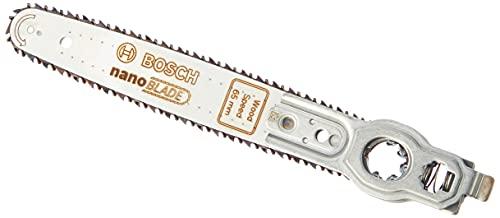 Bosch 2609256D86 Lame de scie NanoBlade Bois Speed 65, Gris