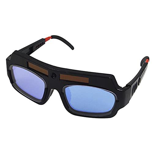 Gafas de soldadura de oscurecimiento automático solar de seguridad gafas de soldadura casco Anti-Flog
