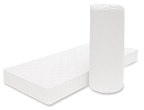 AVANTI TRENDSTORE - Clever - Materasso Arrotolabile in Poliuretano espanso, assorbe l'umidità ed è Altamente Traspirante, Disponibile in 2 Diverse Misure (90_x_200_cm)