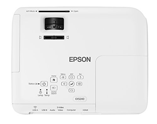 Epson EX5250 Pro Wireless color Brightness 3600 Lumens White 3LCD Projector (Certified Refurbished) Photo #5