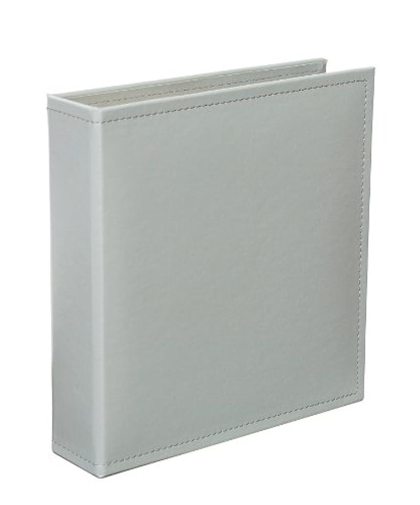 Becky Higgins Grey 6x8 Faux Leather Album