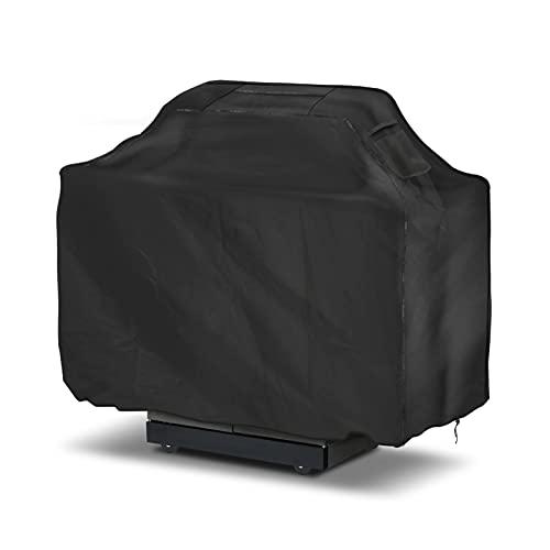 Aceshop BBQ Cover 210D Heavy Duty Barbecue Cover Impermeabile Gas Grill Cover Large BBQ Grill Cover Antipolvere, Anti-UV, Antivento, Antistrappo, Antivento con Custodia (145 x 61 x 117 cm)