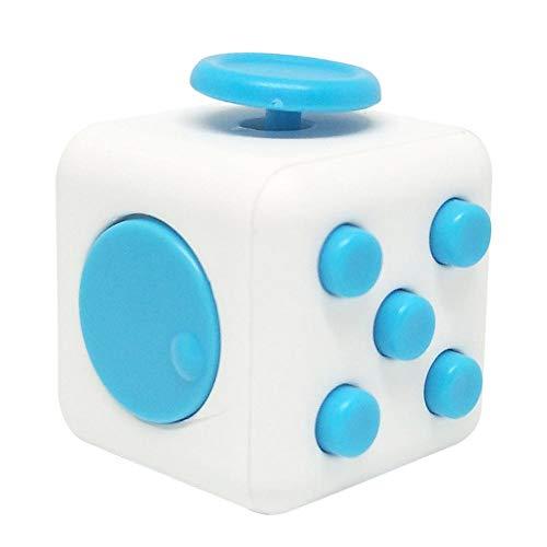 rosemaryrose Anti-Stress-Würfel Schreibtisch Squeeze Cube Spielzeug In-Relief Hand Magic Mini Cube Spiel und Puzzle