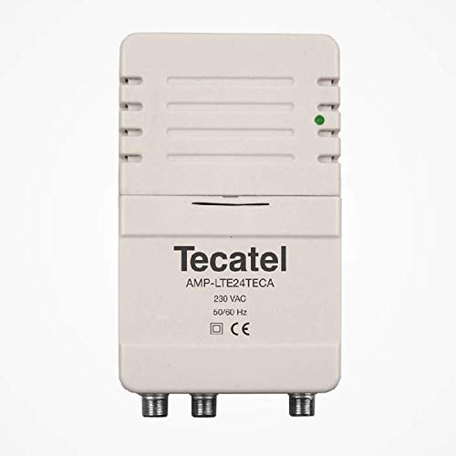 Tecatel Amplificador TV TDT Interior AMP-LTE24TECA