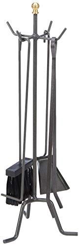 Artigian Ferro 9919410 Serie Attrezzi per Camino, 22x58h cm