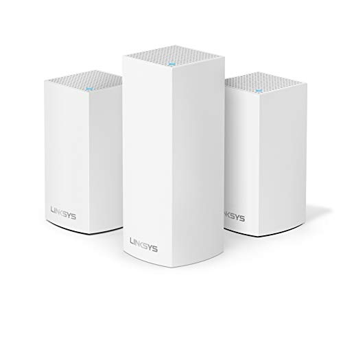 Linksys Velop Triband AC4600 Intelligent Mesh WiFi Router Replacement System | 3...
