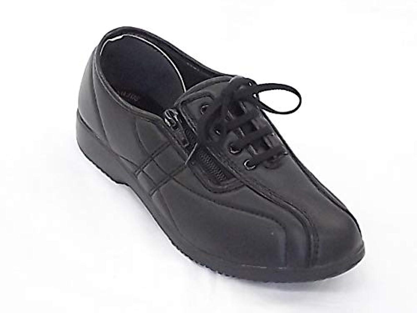 長老有料書き出す[ダンロップ] HOUSE BRAND TSUBAME くつろぎエルダー (サイズ:22.5cm カラー ブラック) KE326 スニーカー シューズ レディース 靴 お取り寄せ商品
