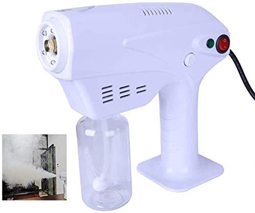 ODODDE Pulverizador eléctrico portátil, Nano Pistola de pulverización de Vapor Azul luz...