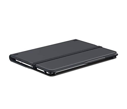 Logitech Universal Folio Tablet-Hülle mit Kabelloser Tastatur, Bluetooth, 2-Jahre Batterielaufzeit, Für 9 Zoll- 10 Zoll Tablets, Apple, Android & Windows-OS, Deutsches QWERTZ-Layout - schwarz