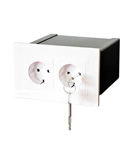 Gravitis Cassaforte a muro segreta – Custodia sicura per i tuoi oggetti di valore in questa realistica scatola portaoggetti con presa nascosta.