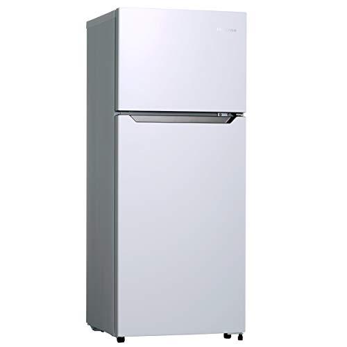 ハイセンス 冷凍冷蔵庫(幅48.1cm) 120L 2ドア 右開き HR-B12C 一人暮らし ホワイト