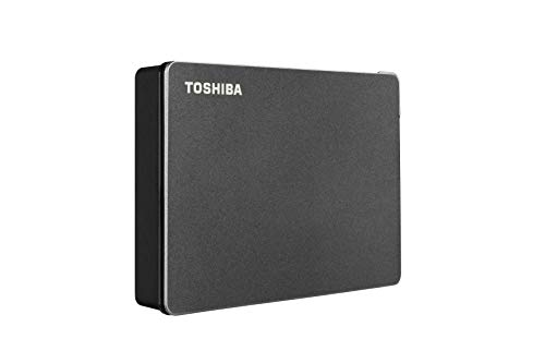 Toshiba Canvio Gaming 4TB Portable External Hard Drive USB 3.0, Black for PlayStation, Xbox, PC & Mac - HDTX140XK3CA