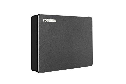 Toshiba Canvio Gaming HDTX140XK3CA - Disco Duro Externo portátil (4 TB, USB 3.0), Color Negro