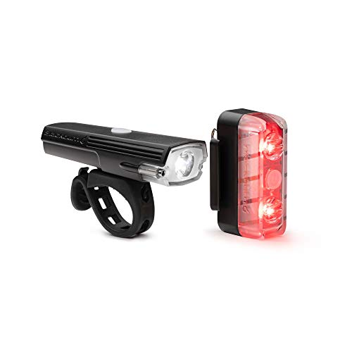 Blackburn Dayblazer Front and Rear Bike Light Set (800 Lumens Front, 65 Lumens Rear)