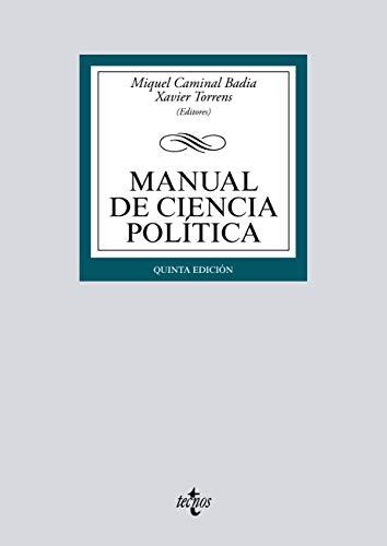 Manual de Ciencia Política (Derecho - Biblioteca Universitaria de Editorial Tecnos)
