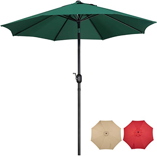 9FT Patio Market Table Umbrella for Outdoors Now $38.39 (Was $47.99)