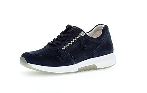 Gabor Zapatillas Rollingsoft 46.946 para mujer, color Azul, talla 40.5 EU