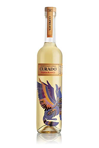 Curado - Tequila Cupreata, Tequila Especiado, Botella de 700 ml