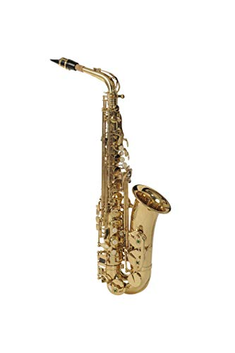 Havana Alto Saxophone Gold laquer With Case Sold By ChennaiMusicals