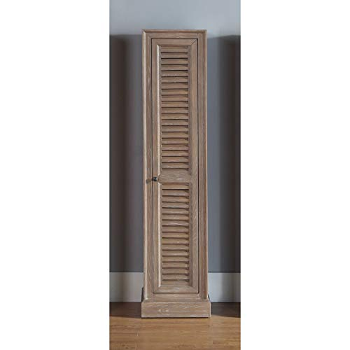 James Martin Furniture Small Linen Cabinet in Driftwood