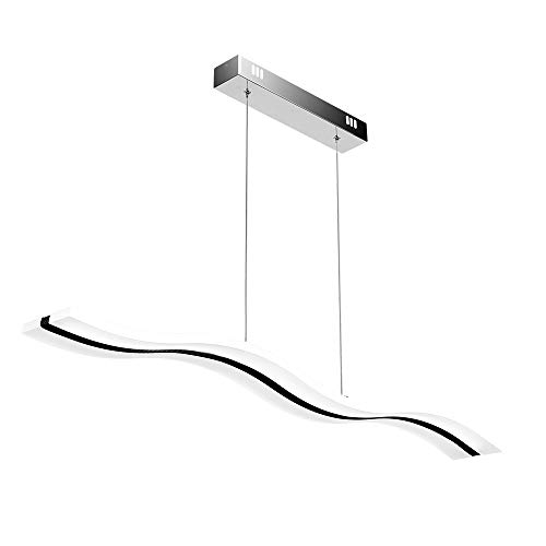 Lampadario a Sospensione LED,Create For Life Lampadario LED, Lampadario Moderno LED, LED Plafoniera 36W (6000k)