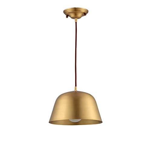 Plafonnière, hanglamp, woonkamer, decoratie, slaapkamer, eettafel, loft, restaurant, café, LED, industrieel koper, hout, energieklasse A ++] (kleur: B)